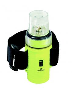 Lampe flash flottante plastics